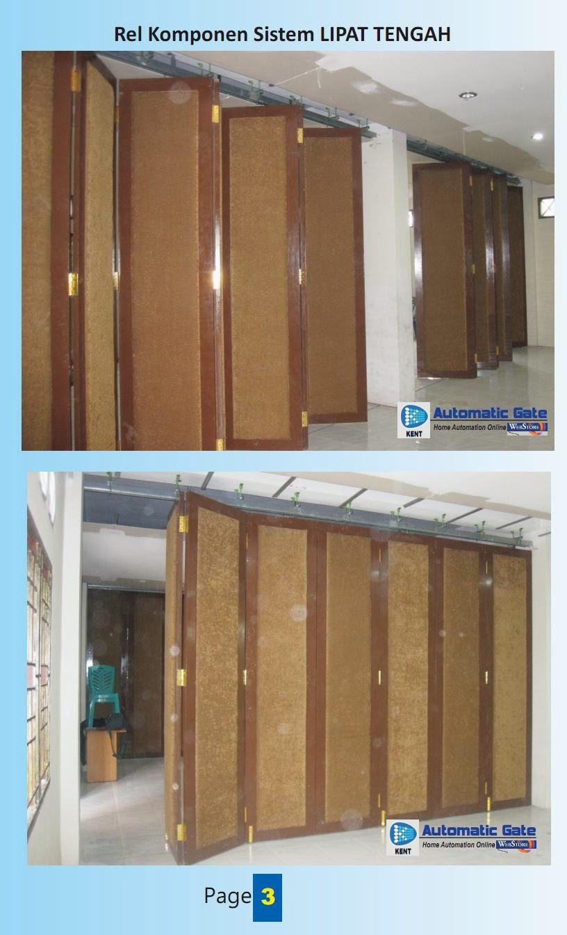 Informasi Sistem Pintu Lipat Penyekat Ruangan dengan beberapa ...