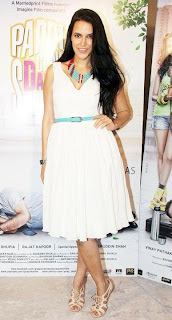 WWW..BLOGSPOT Neha Dhupia at promotion of 'Pappu Can't Dance Saala' Hindi Movie 0019