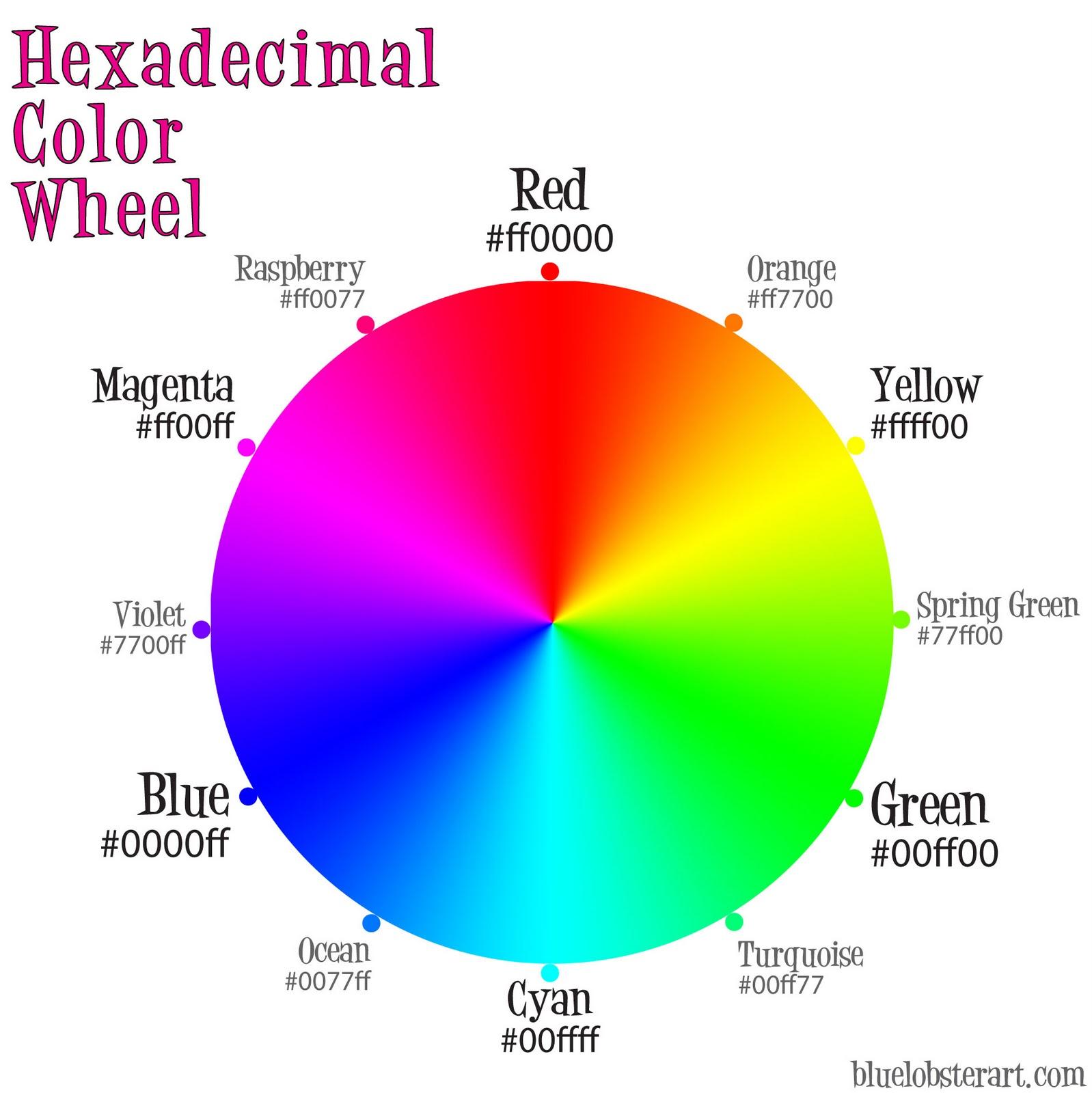 http://4.bp.blogspot.com/-1TFIe2-vACU/Tv-N-Q2STvI/AAAAAAAABRA/FTCwT8oz_m0/s1600/hexadecimal-color-wheel-lg.jpg