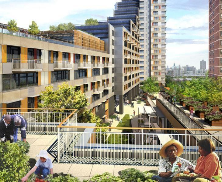 Polis Bronx Affordable Housing The Green Way