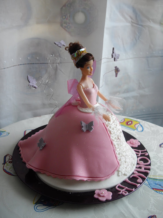 Tarta Barbie