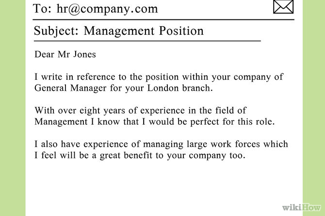 Cover letter inquiring openings
