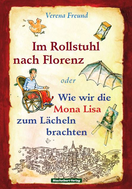 """Buch """"Im Rollstuhl nach Florenz"""""""