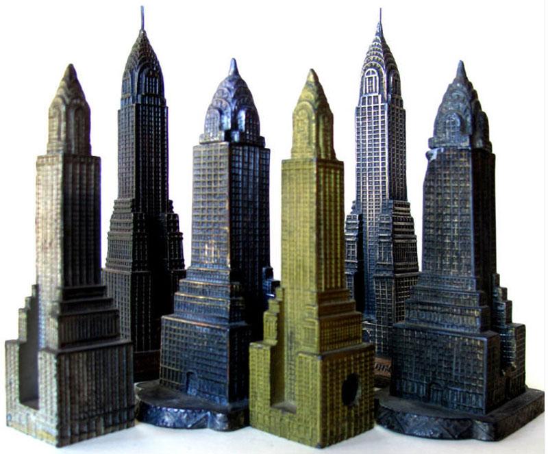 building collector chrysler building souvenir miniature replica