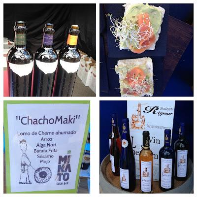 Productos típicos del Traditional Cuisine Festival