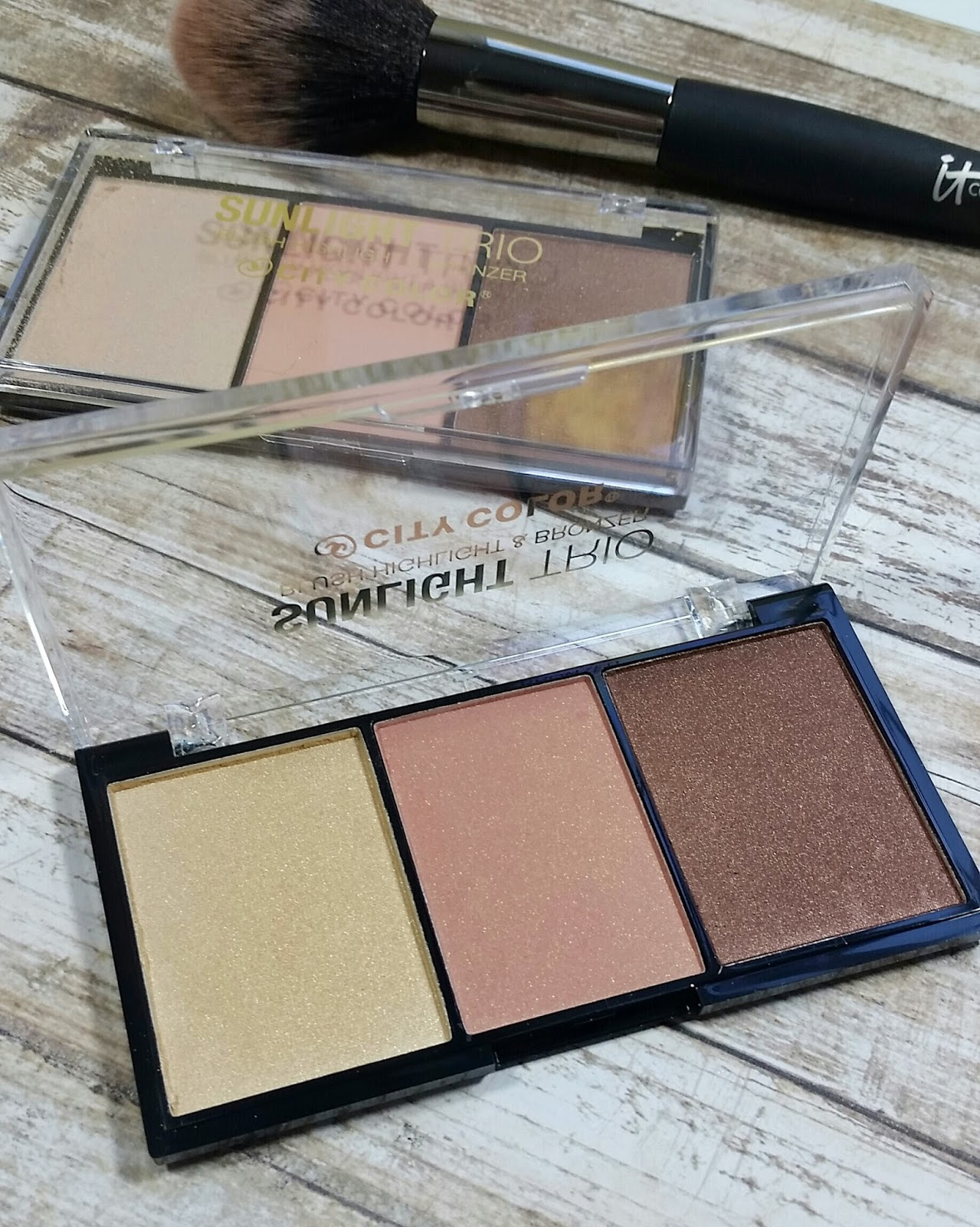 City Color Sunlight Trio Collection 1 review