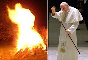 Flaming Pope