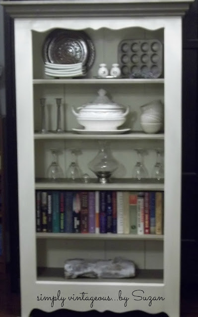 Annie Sloan, painted, bookcase,