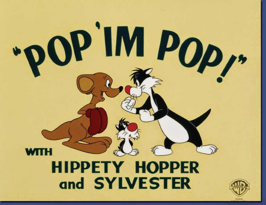 imagen de Hippety Hopper & Sylvester  de Looney Tunes