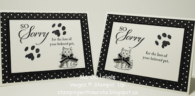 So sorry stampin up