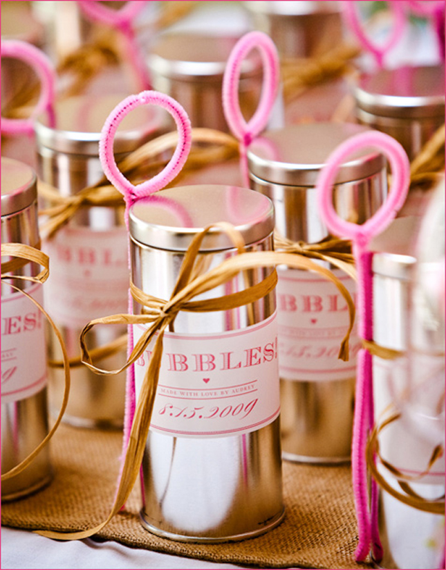 Diy Wedding Party Favors