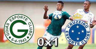 Ficha da Bola Placar Goiás 0x1 Cruzeiro Serra Dourada 32ª Rodada Campeonato Brasileiro 2015