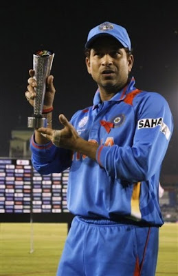 Sachin Man Of match