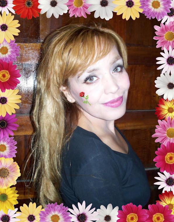 Graciasss mamá por estas flores y la foto!!