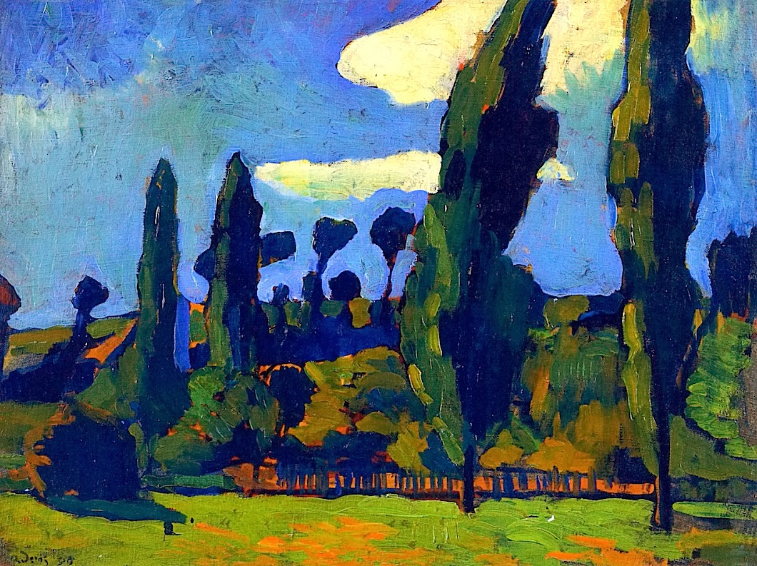 andre derain Andr biography  andre derain was a french painter famous for his drastic use of colors and work in the fauvist movement he was born on june 10, 1880 and grew up in a town near paris.
