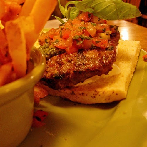 http://secretcopycatrestaurantrecipes.com/applebees-bruschetta-burger-recipe/