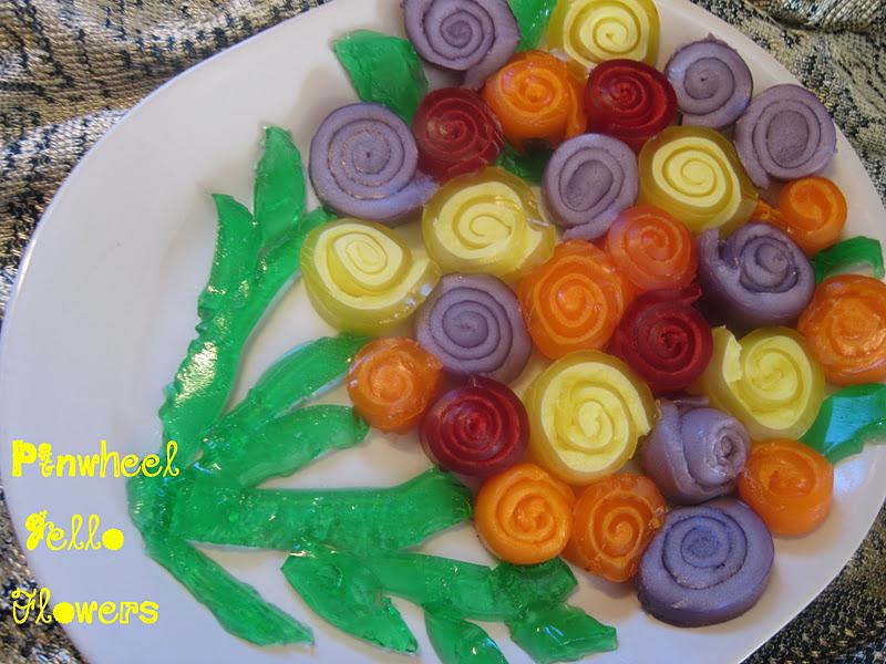 The better baker pinwheel jello flowers