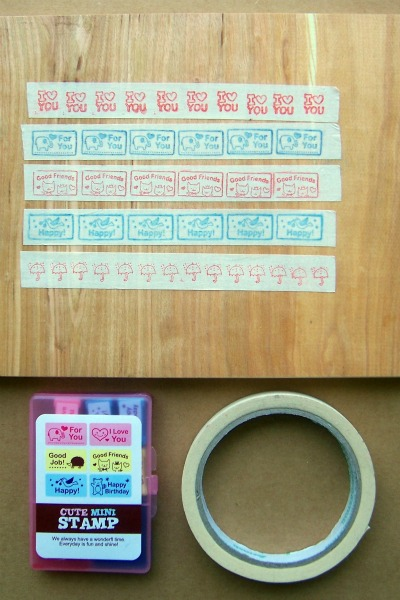 Homemade deco masking tape tutorial - Idee deco masking tape ...