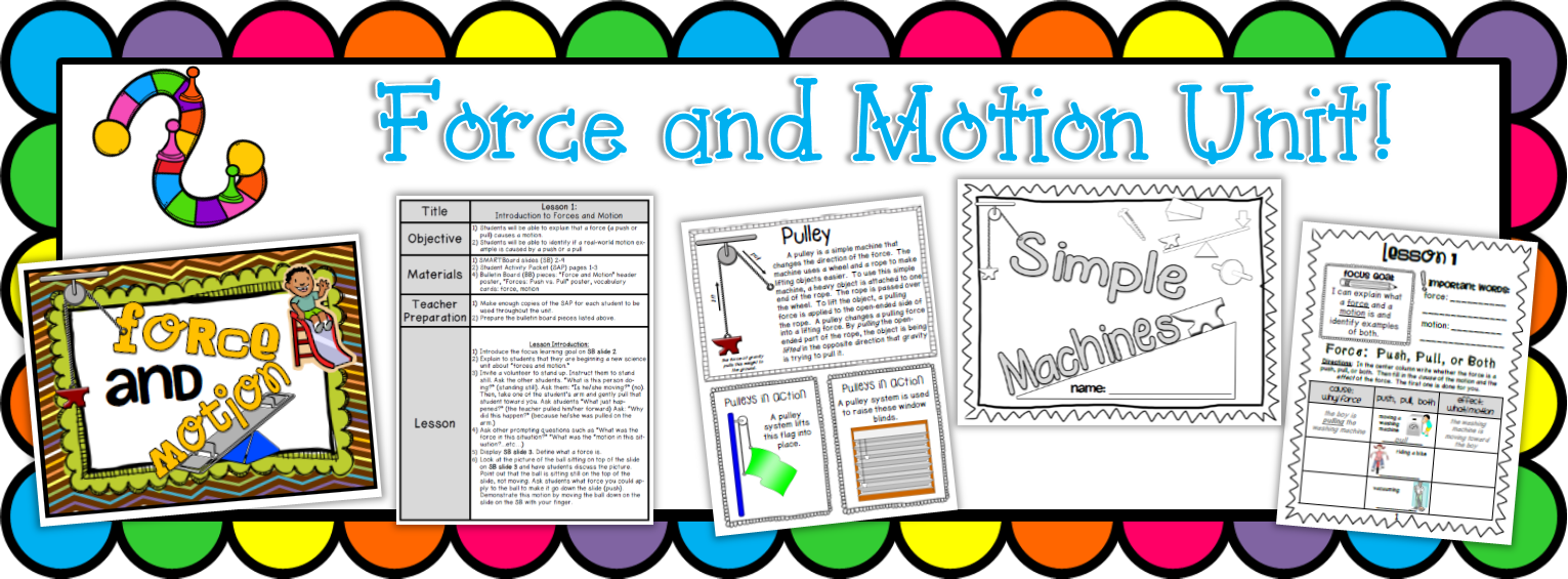https://www.teacherspayteachers.com/Product/Force-and-Motion-and-Simple-Machines-Complete-Unit-613399