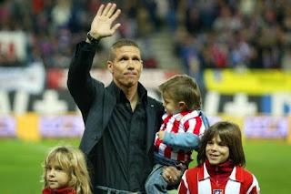 Diego Simeone dirigirá al Atlético de Madrid