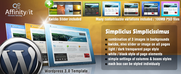 Simplicius Simplicissimus Universal Wordpress Theme v1.5 Free Download by ThemeForest.