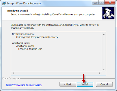 icare data recovery software free