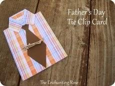 Tie Clip Card