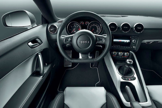 2011 Audi TT Coupe Front Interior
