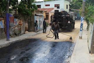 Programa de asfaltado ASDE-MOPC llega a Cancino Adentro