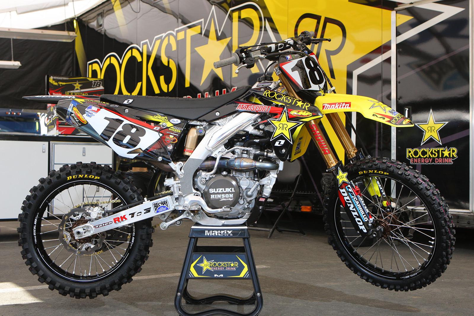 David Millsaps   Team Rockstar Suzuki
