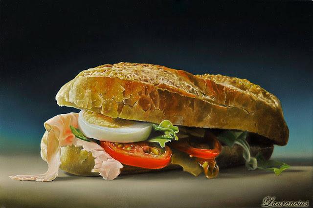 7-Lukisan-Makanan-Karya-Tjalf-Sparnaay-sandwich