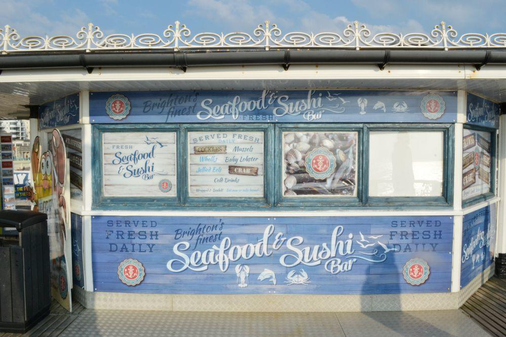 brighton pier sushi seafood bar