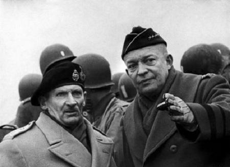 Eisenhower och Montgomery
