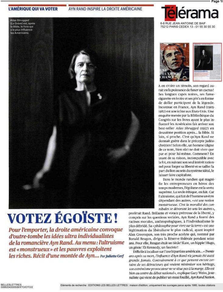 le parisien liberal octobre 2012