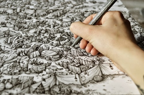 00-Marija-Tiurina-Intricate-and-Detailed-Ink-Maze-Drawings-www-designstack-co