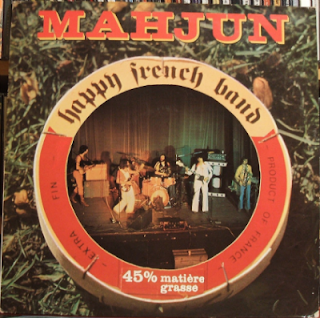 MAHJUN-HAPPY FRENCH BAND, LP, 1977, FRANCE