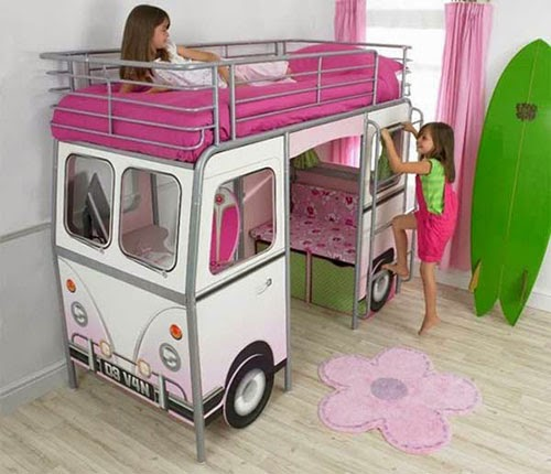 Spectacular And even today there are many people and fans who like campervans For inspiration we offer look on the collection of VW Camper Style Beds and bunk beds
