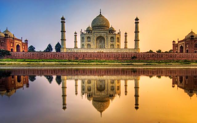 El Taj Mahal Monumento Historico de la India