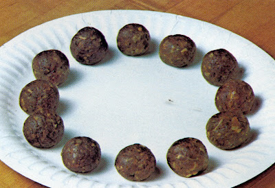 circle of meatballs