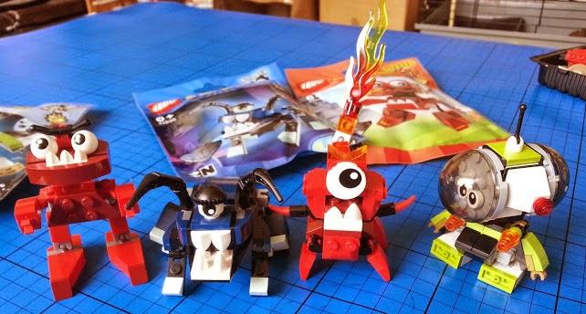 LEGO Mixels series 4 characters