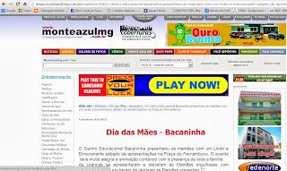 Apoio www.monteazulmg.com.br