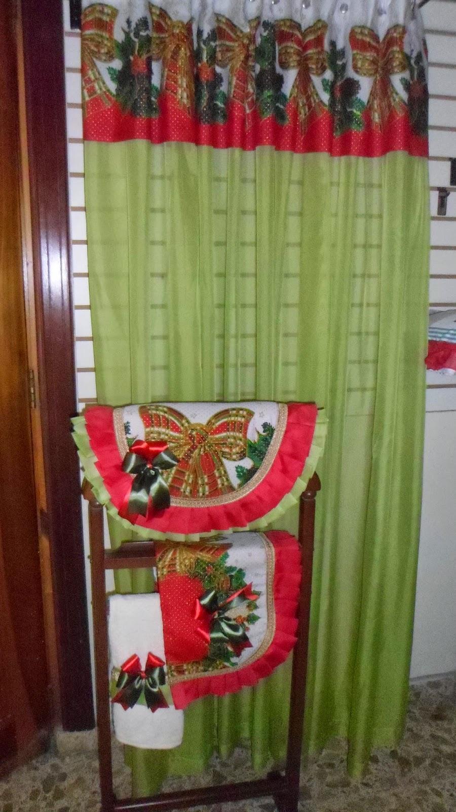 Lenceria De Baño Navidad:de 4 piezas se acerca el fín de año y comienzan las preparaciones de