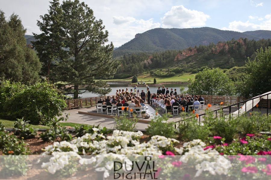 Colorado Springs Wedding Portrait Photography Duval Digital A Beautiful Golf Course Wedding