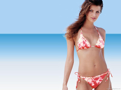 Isabeli Fontana Bikini Wallpaper