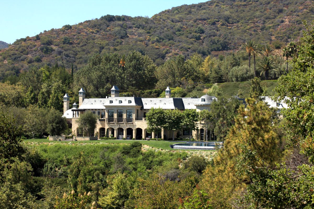 Million dollar Los Angeles, CA estate