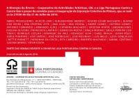 COOPERATIVA ÁRVORE | EXPOSIÇÃO COLECTIVA DE PINTURA - LIGA PORTUGUESA CONTRA O CANCRO