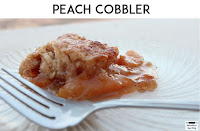 Peach Cobbler | www.mountaintopchef.blogspot.com