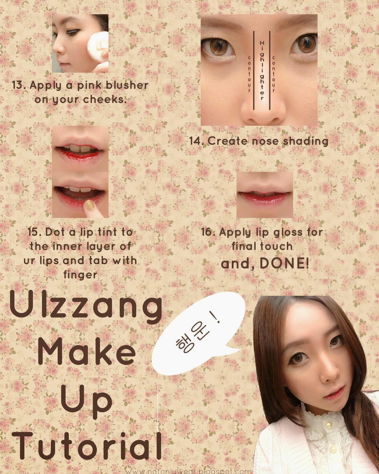 Not Only Wear: Ulzzang Make Up Tutorial