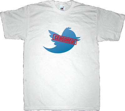 twitter internet 2.0 social network censorship t-shirt ephemeral-t-shirts