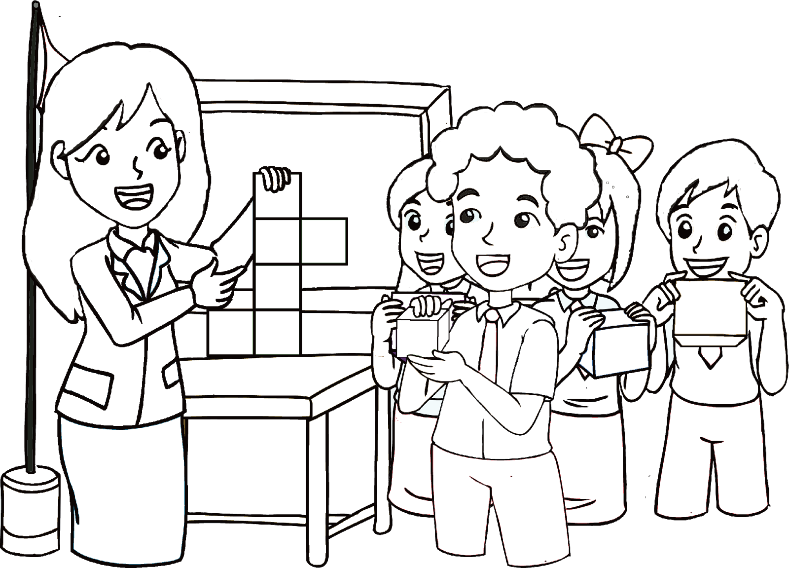 kumpulan gambar hitam putih bw untuk diwarnai freewaremini